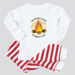 """S'more Fun"" Baby Pajamas"
